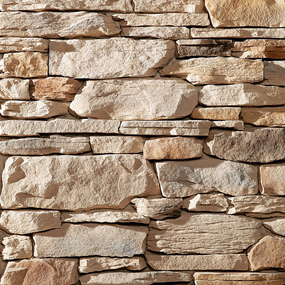 Natural Stone Veneer Products : Ledgestone natural blend peoria brick company