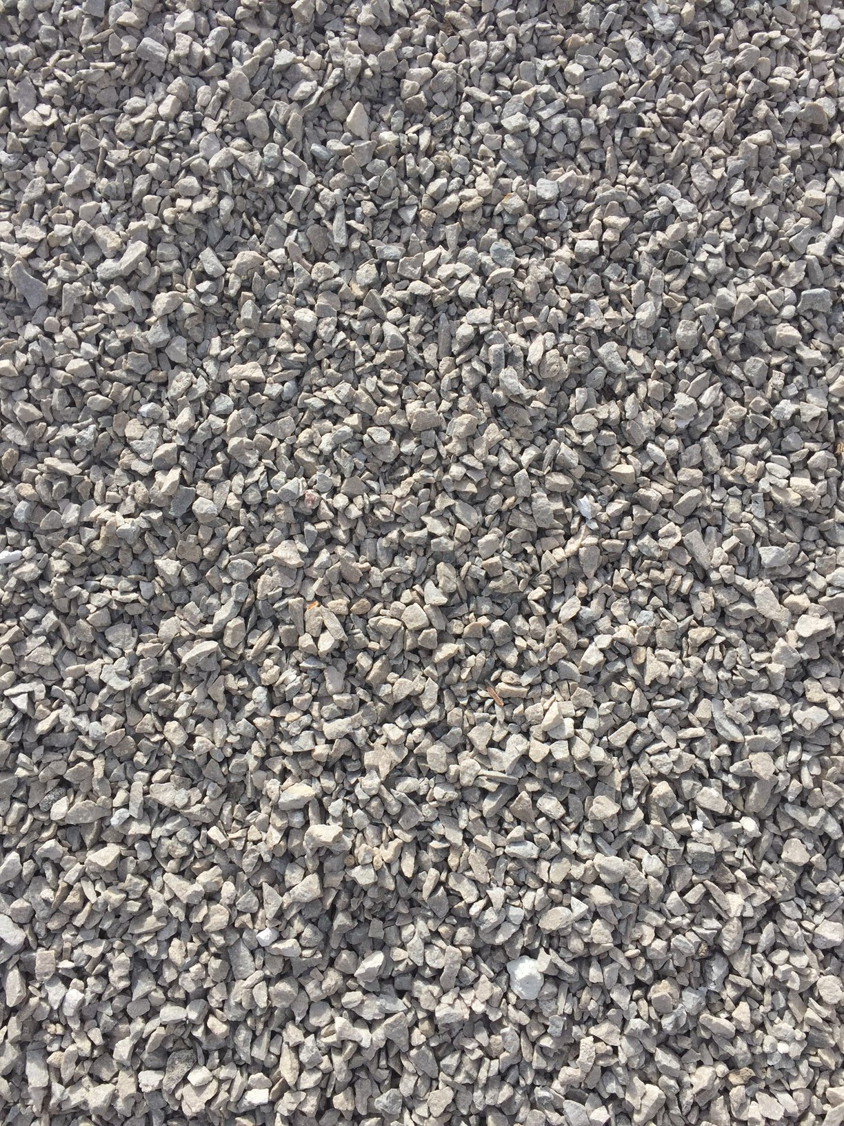 White Crushed Stone : Crushed white rock peoria brick company central